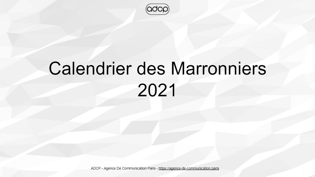 Calendrier Marronnier 2021 Calendrier des Marronniers 2021   Dates pour le marketing