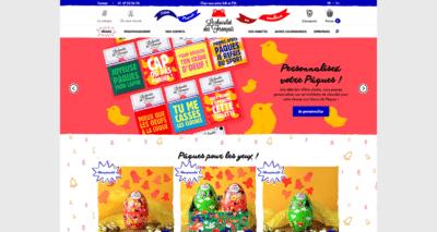devis site e commerce le chocolat des français